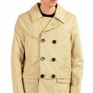Just Cavalli Men's Double Breasted Adjustable Coat